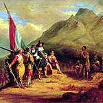 Jan Van Riebeek Landed at The Cape in the year 1652